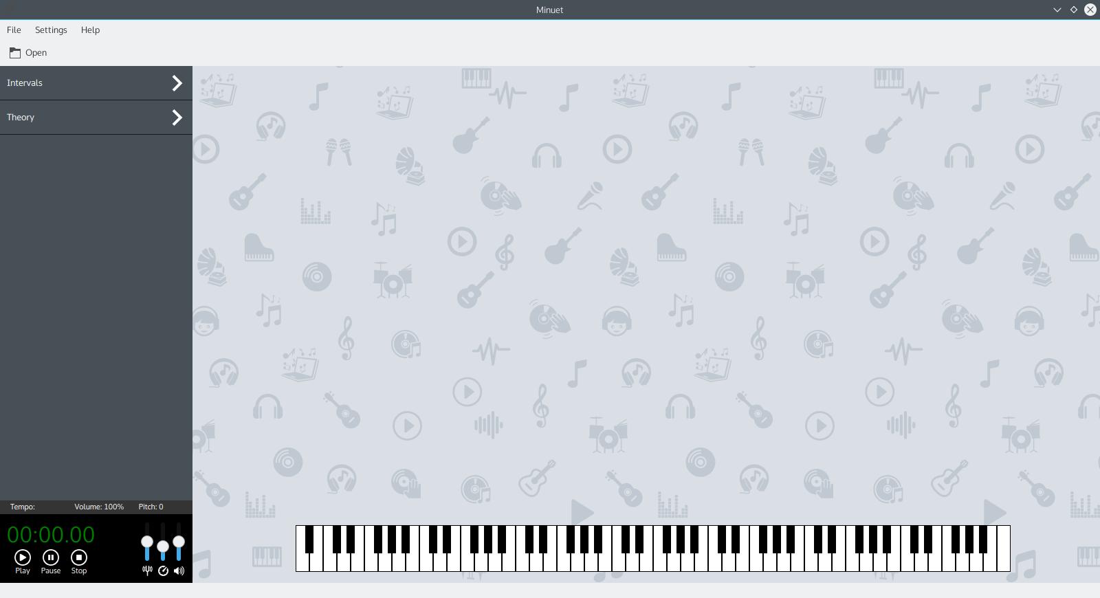 A Minuet for KDE