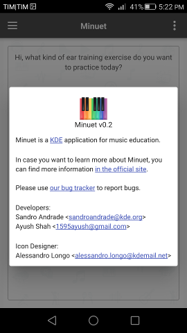 Minuet 0.2: massive refactoring and Android version available